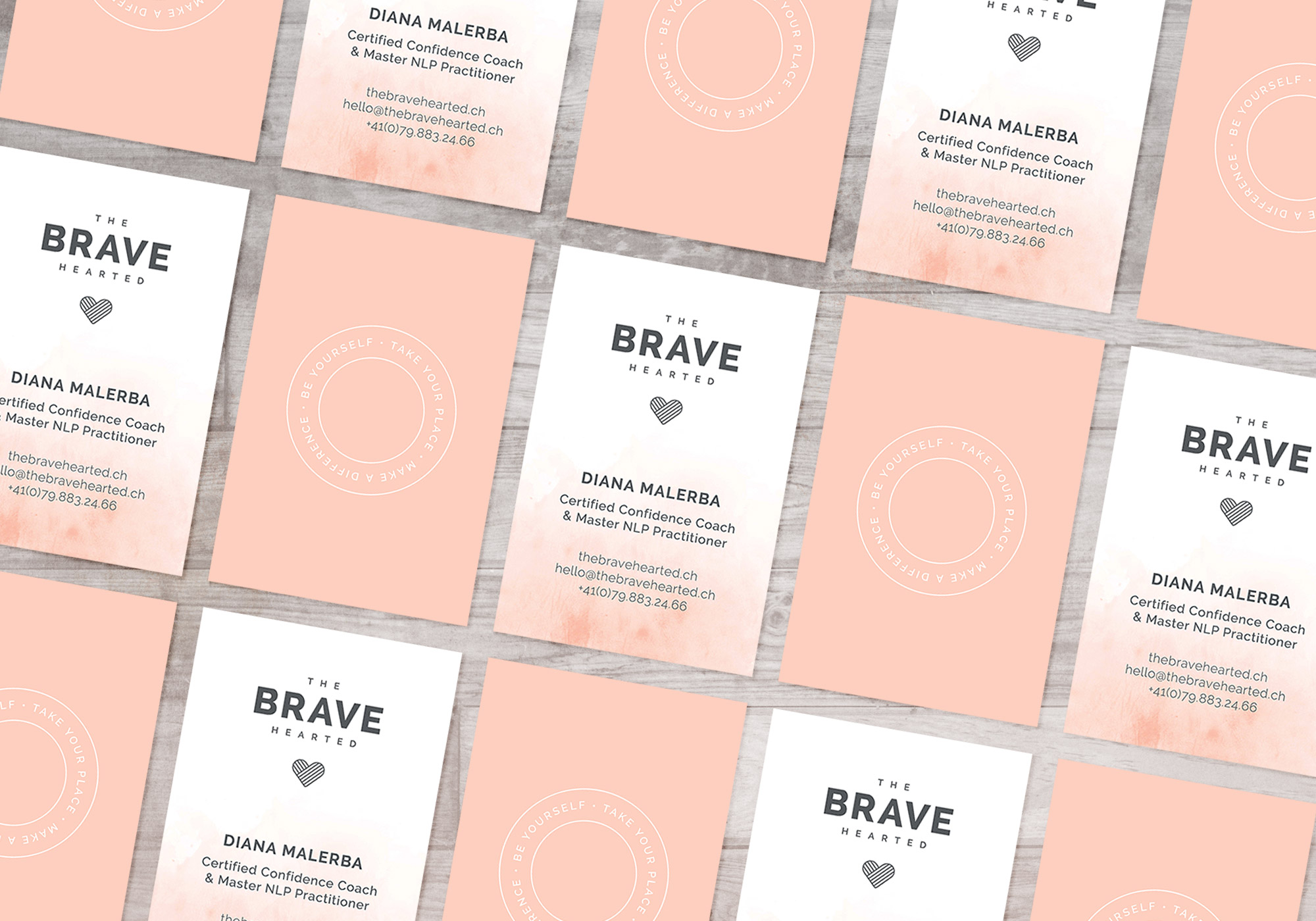 Business Cards - The Brave Hearted