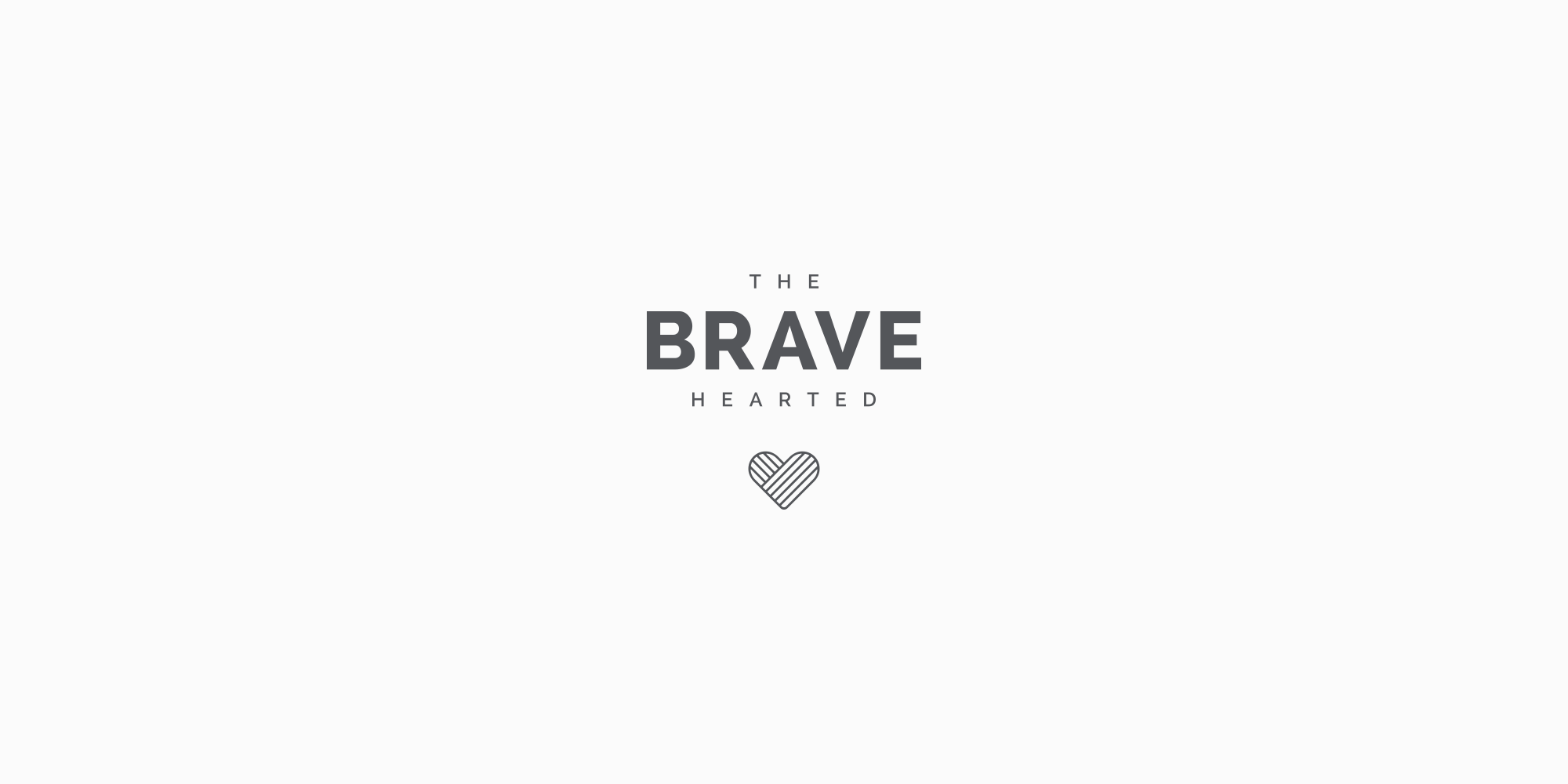 Logo - The Brave Hearted